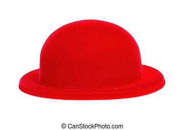 ボーリング競技者帽子, 赤