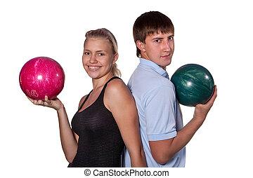 ボーリング競技者