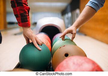 ボーリング競技者, 取得, 2, フィーダー, ボール, マレ