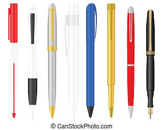 ボールペン, セット