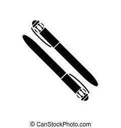 ボールペン, ベクトル, ペン, イラスト