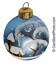 ボール, クリスマス木