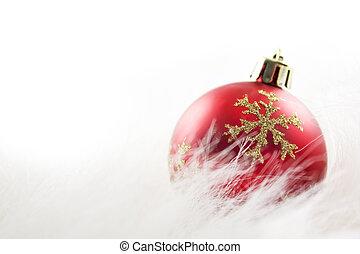 ボール, クリスマス, 表面, harry