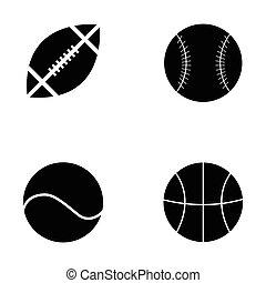 ボール, コレクション, スポーツ