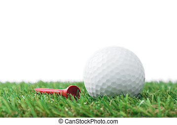 ボール, ゴルフティー