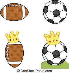 ボール, 別, コレクション, セット