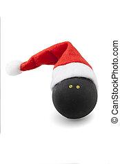 ボール, 帽子, スカッシュ, santa