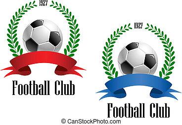 ボール, 月桂樹の冠, フットボール