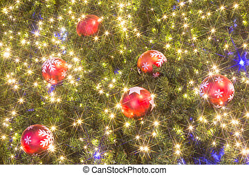 ボール, 木, クリスマス, カラフルである