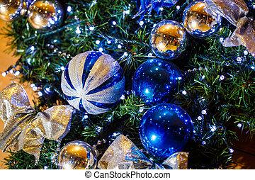 ボール, 木, クリスマス