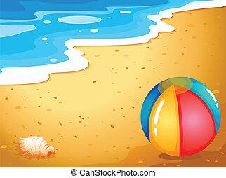 ボール, 浜