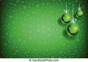 ボール, 装飾, クリスマス, background-03