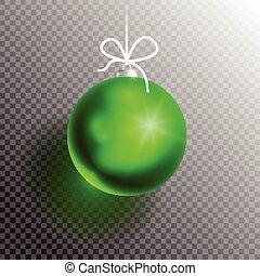 ボール, blik2-01, クリスマス, 透明
