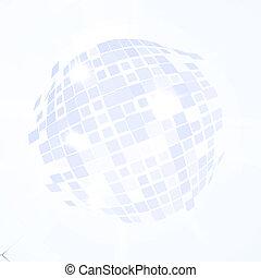 ボール, explosion., ディスコ