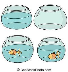 ボール, fish, ベクトル, セット