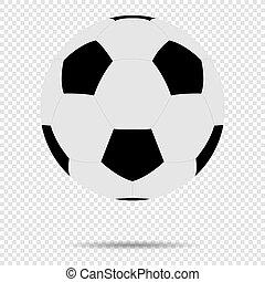 ボール, illustration., クラシック, 隔離された, バックグラウンド。, ベクトル, デザイン,...