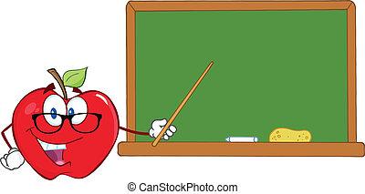 ポインター, アップル, 教師
