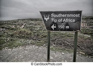 ポイント, アフリカ, 南, 印, ほとんど, アフリカ, 南