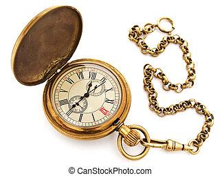 ポケット, 型, 時計