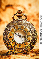 ポケット, 型, 腕時計