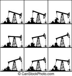ポジション, 別, 油ポンプ, 仕事