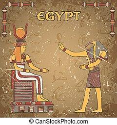 ポスター, エジプトの神
