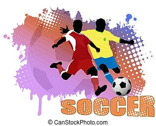 ポスター, サッカー