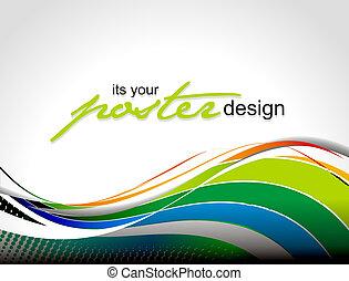 ポスター, デザイン