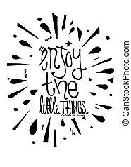 ポスター, 単純である, 型, 動機づけである, イラスト, ベクトル, doodles