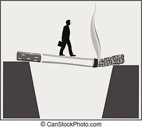ポスター, 殺す, 喫煙