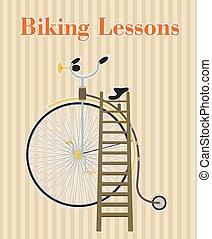 ポスター, 自転車, 型