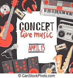 ポスター, 音楽コンサート