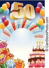 ポスター, birthday, 50番目