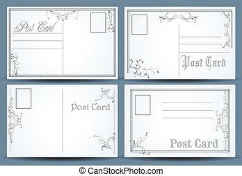 ポスト, カード