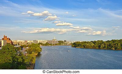 ポトマックの 川, washington d.c.