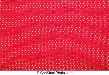 ポルカドット, 背景, 赤