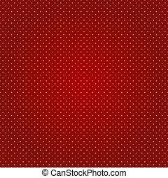 ポルカ, ベクトル, 点, seamless, 赤い背景