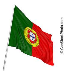 ポルトガルの旗, 3d
