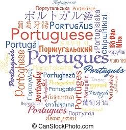 ポルトガルの言語, collage.