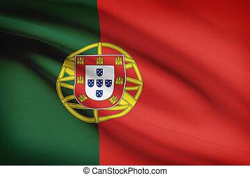 ポルトガル語, 共和国, 波立たせられる, 旗, シリーズ