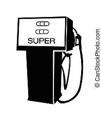 ポンプ, ベクトル, ガソリン