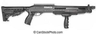 ポンプ, ライフル銃