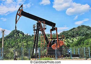 ポンプ, 油井