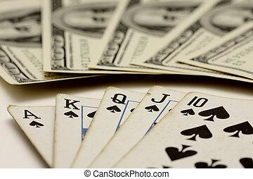ポーカー, ゲーム, カード