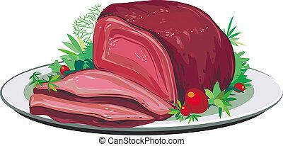 ポーク 焼き肉