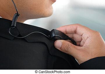 ポータブル, 監視, ラジオ, 屋外で, 使うこと, セキュリティー, マレ