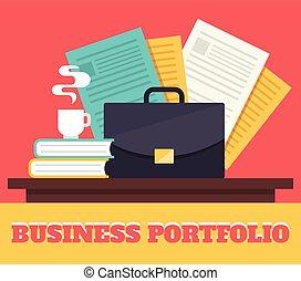 ポートフォリオ, ビジネス