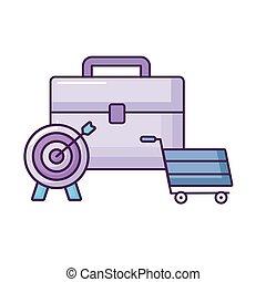 ポートフォリオ, 買い物, ターゲット, カート