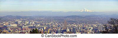 ポートランド, オレゴン, panorama.