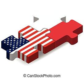 ポーランド, 旗, 困惑, アメリカ